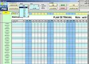 Télécharger XLS Planning Free gratuit