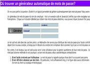 Télécharger Générateur de mots de passe gratuit
