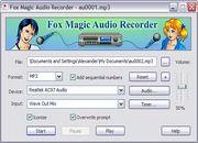 Télécharger Fox Magic Audio Recorder gratuit